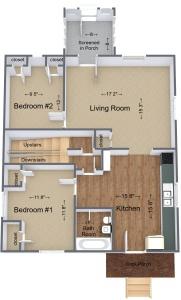 37720 Lower unit 3D